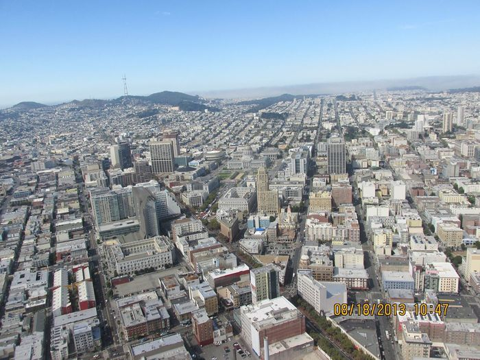 A Bird's Eye View Cityscape Built Structure City Aerial View City Life San Francisco