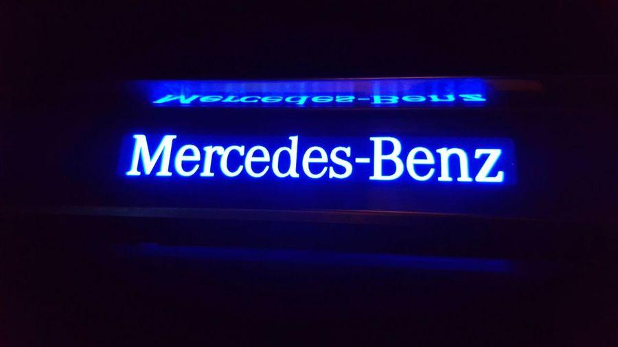 Mercedes AMG W202 LED Illuminated Technology Indoors