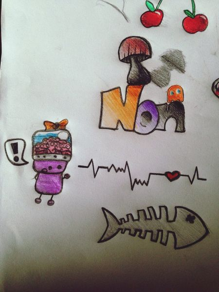 Doodle Drawing Nonnynoonoo