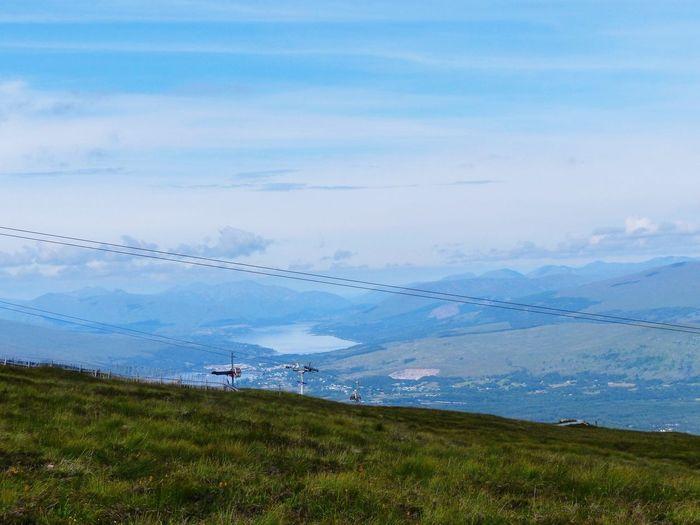 Aonach Mor, Fort William Scotland Aonach Mor Beauty In Nature Cloud - Sky Sky Landscape Environment Scenics - Nature Bird Mountain Tranquility