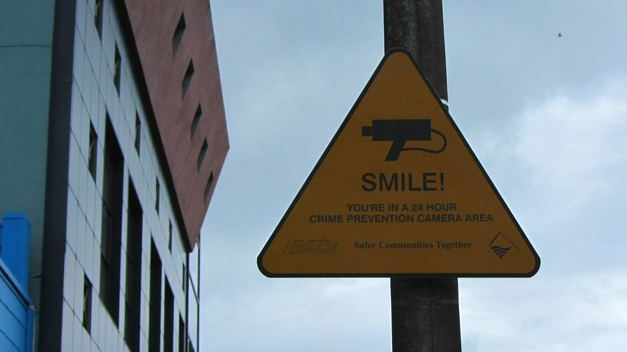 Funny Signs, but Big Brother Is Watching You , (Under Control Big Brother, Securitycamera, Camera Surveillance )