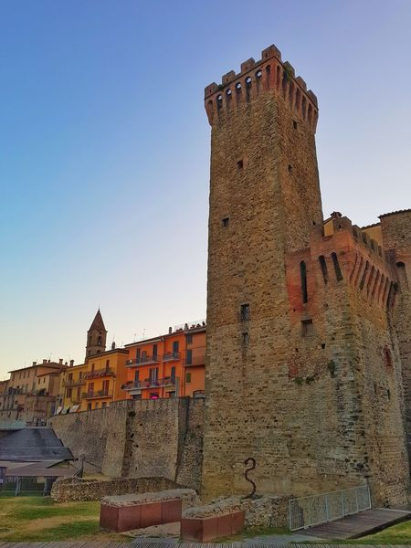 Old italian city of Umbertide. Travel Destinations Architecture Old Ruin History Built Structure Ancient Civilization Building Exterior Umbertide Italy