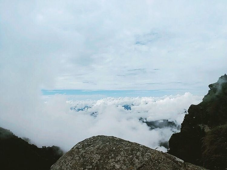 at peak point of mountain 12073ft Mountain Clouds And Sky Nature Scenics Outdoors No People Power In Nature Tungnath Bike Uttarakhand View Above The Clouds Trip Wheather