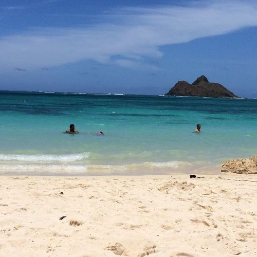 Just what I needed Sunshine I'm Happy toes buried in the Finest Sand and clear ocean water to rejuvenate my soul