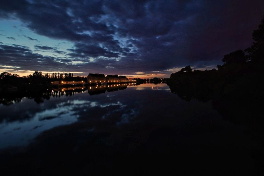 Reflection Night Water Star - Space Sky Milky Way Astronomy No People Cloud - Sky Lake Nature Landscape Galaxy Scenics Space Outdoors Constellation Tree Beauty In Nature Nature Sony A6000 Berlin, Germay Freshness Black Background Horizon Over Water The Week On EyeEm