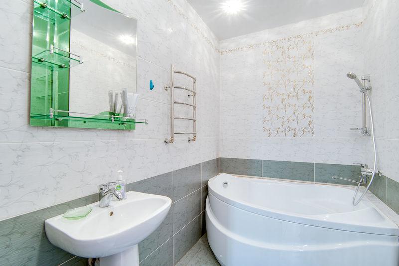 Bathroom Domestic Bathroom Hygiene Domestic Room Home Sink Household Equipment Indoors  Faucet Tile Toilet Bathroom Sink No People Flooring Mirror Absence White Color Modern Home Interior Wealth Luxury Tiled Floor Clean