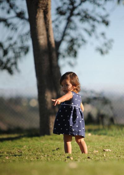 Alone Carefree Childhood Escapism Innocence