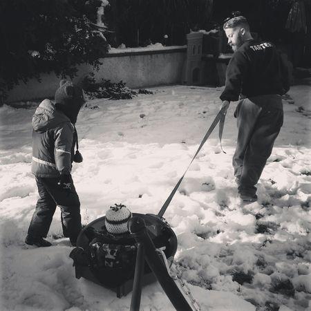 Snow Day in SoCal. Snow Snowday Snowpocalypse Joy Family Dadlife