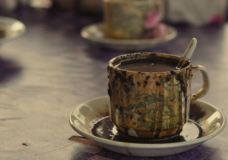 Caffeine overload Caffeine Caffeine Addict Close-up Coffee Drink Food And Drink Malaysian Food Table