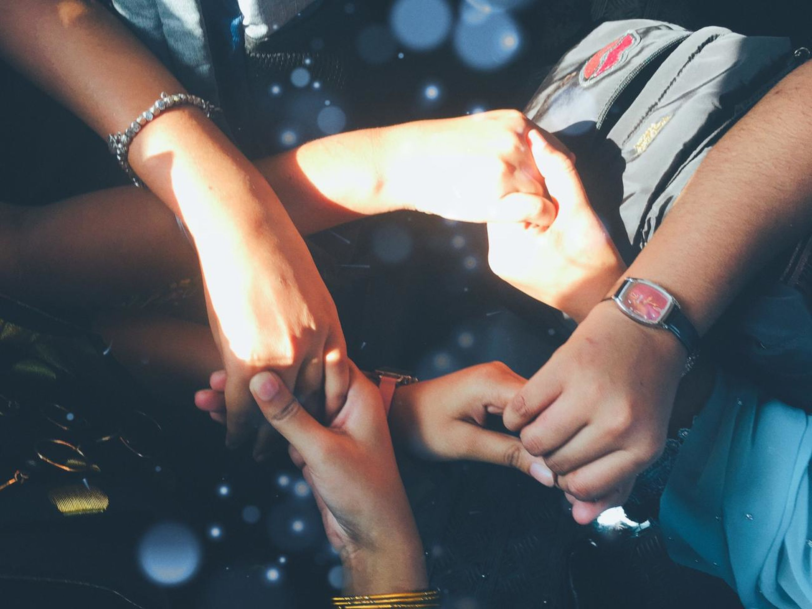 hand, adult, togetherness, event, women, two people, nail, celebration, lifestyles, finger, night, friendship, watch, men, bracelet, emotion, arts culture and entertainment, close-up, fun, food and drink, party, nature, indoors