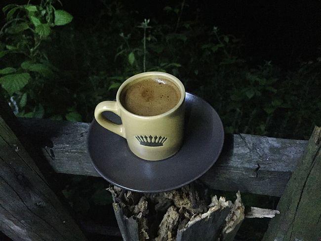 Coffee Turkishcoffee Coffee Time Ilovecoffee Wood Wood - Material Green Nicetime Relaxing Cup Dark Dark Photography