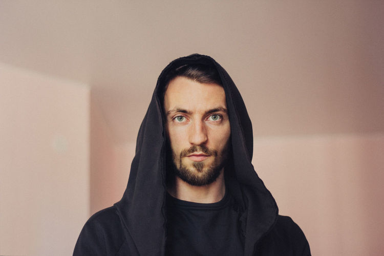 Beard Facial Hair Front View Portrait One Person Looking At Camera Young Men Young Adult Indoors  Headshot Real People Lifestyles Casual Clothing Wall - Building Feature Leisure Activity Standing Men Beautiful People Mustache