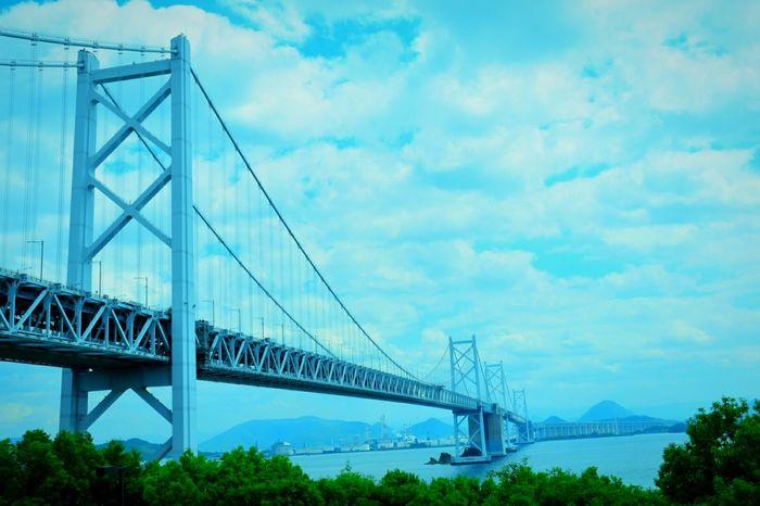 瀬戸大橋 Bridge Kagawa,Japan