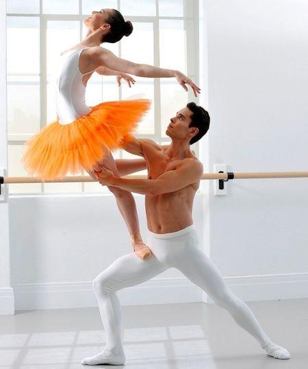 Pas De Deux Balletboy Danseuse étoile Bailarina