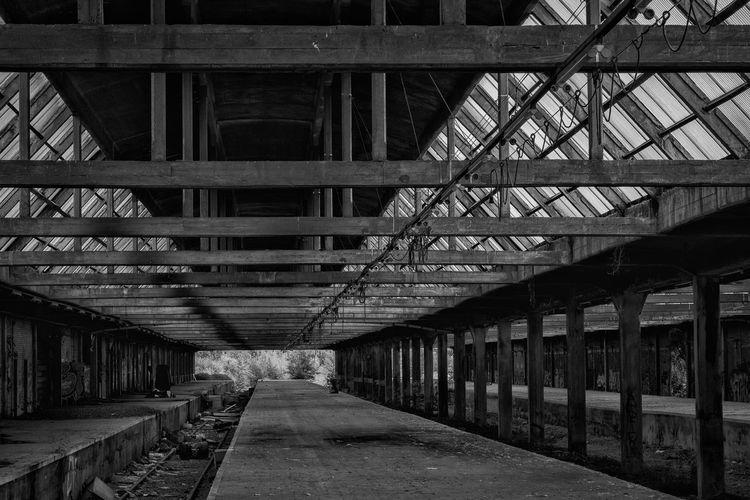 Abandoned train station of Montzen, Belgium. Abandoned Places Black & White Decay Derelict EyeEmNewHere Station Urban Exploring Urban Exploration Abandoned Abandoned Buildings Black And White Blackandwhite Blackandwhite Photography Decaying Deserted Montzen Train Urbanexploration Urbex