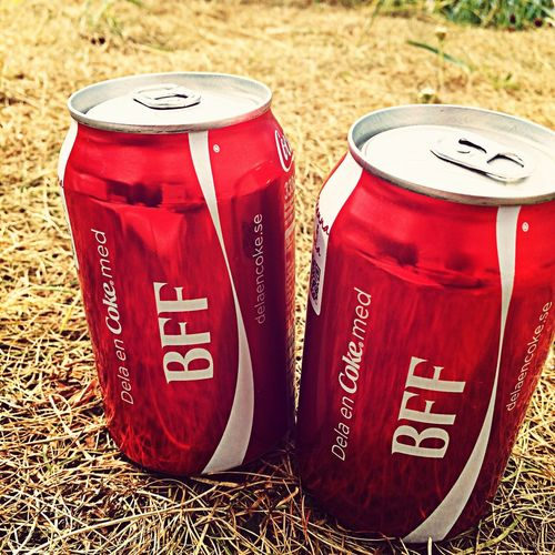 Share a coke with BFF Coke Camping Bff First Eyeem Photo