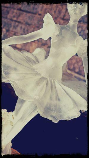 Ornament Glass Ballet Dancer Repaired Glue EyeEm Dancer Pose