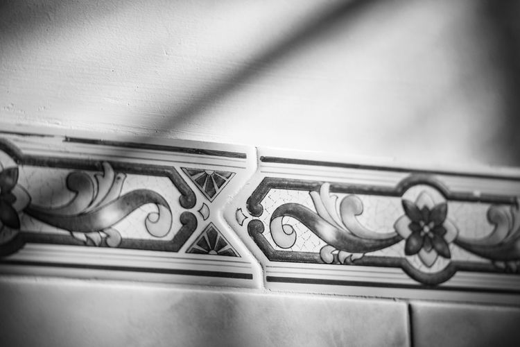Details Close-up Day Horizontal Indoors  Light And Shadow Monochrome Photography No People Tiles Wall
