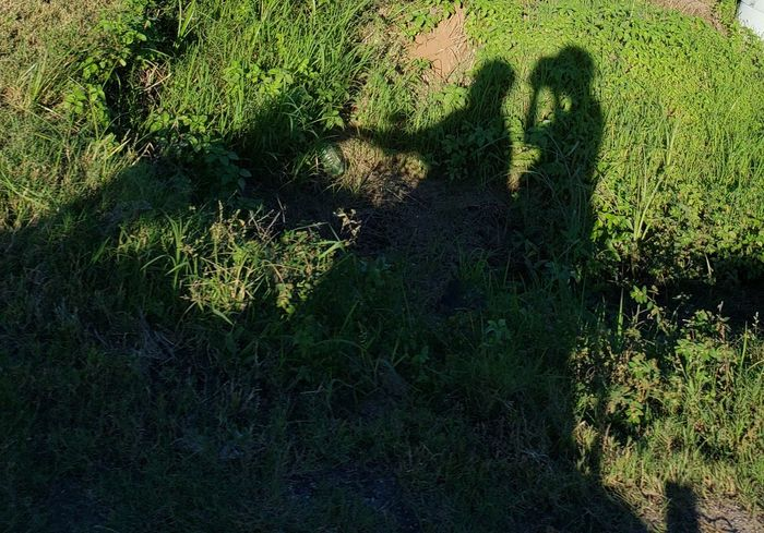 Shadows ride Texas EyeEmNewHere No People #EyeEmNewHere Shadows Shadow Shadow High Angle View Low Section Sunlight Grass Focus On Shadow