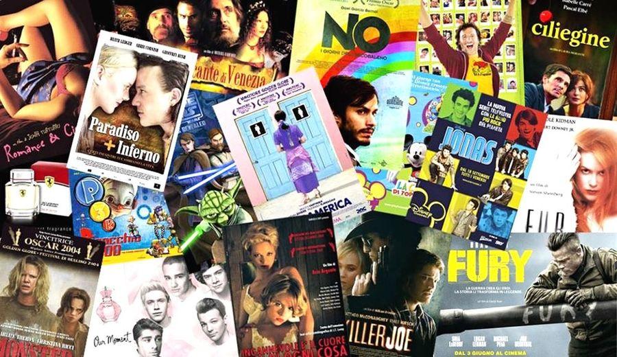 Different*Creativity Mywork MyWork MySelf Cinema Locandine Grafica Creatività Differente Creativity Different