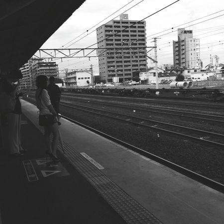 帰ります。🚃👋 Train Station Railway Station Go Home