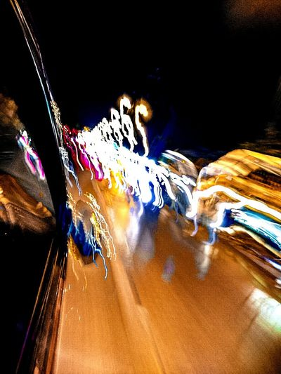 Photography In Motion On The Road Street Photography Car Lights Street Lamps Moving With Speed Trailing Lights Crazy Lights Color Explosion Mobile Photography Lights Photography Night Lights Night Photography