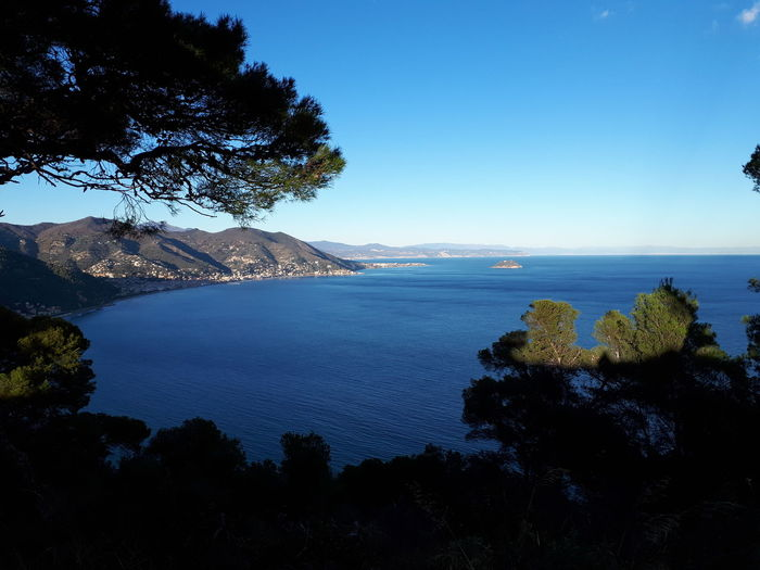 Tranquility Sea Blue Outdoors Beauty In Nature Horizon Over Water No People Liguria,Italy Liguria - Riviera Di Ponente Laigueglia, Landscape