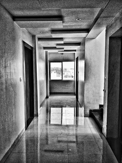 View of open door