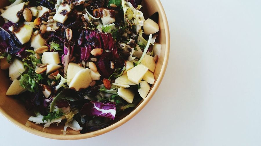 Just salad and healthy food Healthy Eating Salad Salad Time Salads Food Foodporn Foodphotography Foodie Health Healthy Lifestyle Healthy Vegan Vegan Food Lettuce
