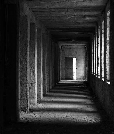 Architecture Built Structure Forsaken Indoors  No People Ruinous Scaryhouse Sunlight