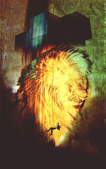 Lion Funambule