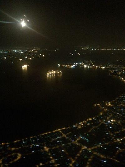 Riodejaneiro Urban Geometry From A Airplane Window