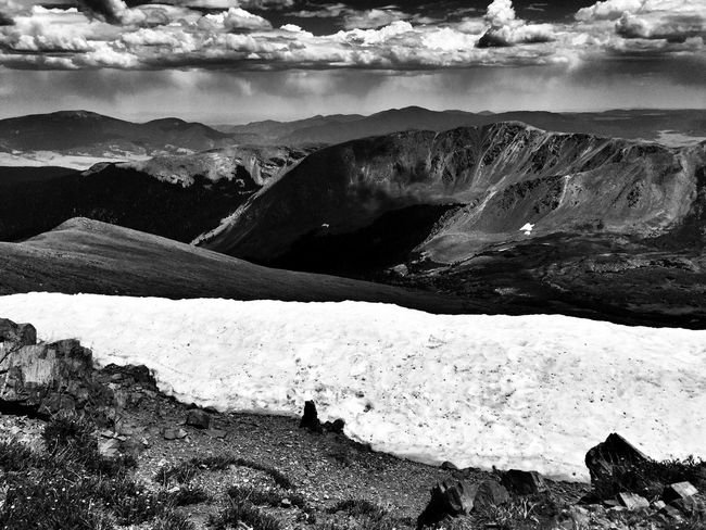 Layers of Time Hello World High Desert Layers Of Time Mountain Hiking High Altitude New Mexico Blackandwhite Photography Blackandwhite Black&white Landscapes Desert Life Monochrome Black And White Snow ❄ Black & White Majesty Last Snow Snow In Summer Mountain Trail To Heaven Black And White Photography Heavenly Mountain Climbing High Contrast Desert Beauty