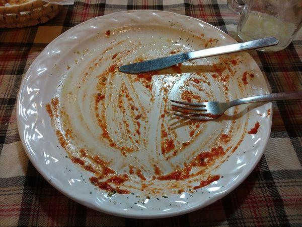 Food And Drink Leftovers Lasagna No More Lasagna