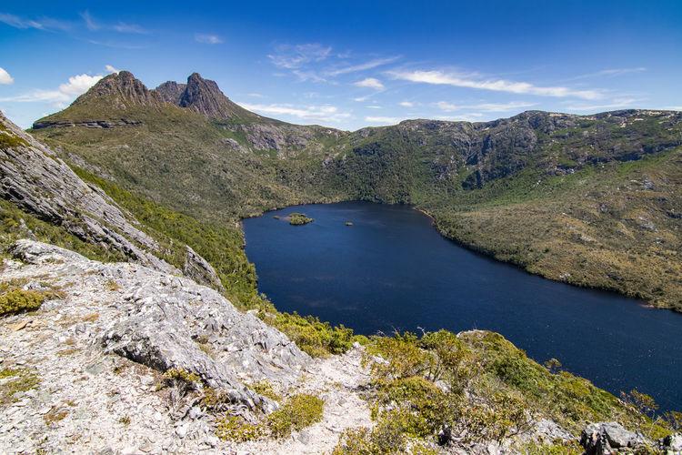 Landscape at cradle mountain-lake st clair national park