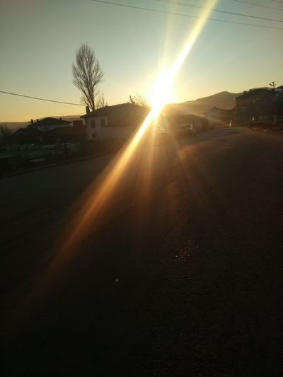 Iyi Akşamlar Kütahya Kütahyalı Güzel Memleketim EyeEm Best Shots Frist Eyeem Photos Gunbatimi Gün Sonu Emet Sunset Sunlight Scenics Landscape No People Sky Nature Beauty In Nature Shadow Outdoors Rural Scene Tree Sun Day Dawn