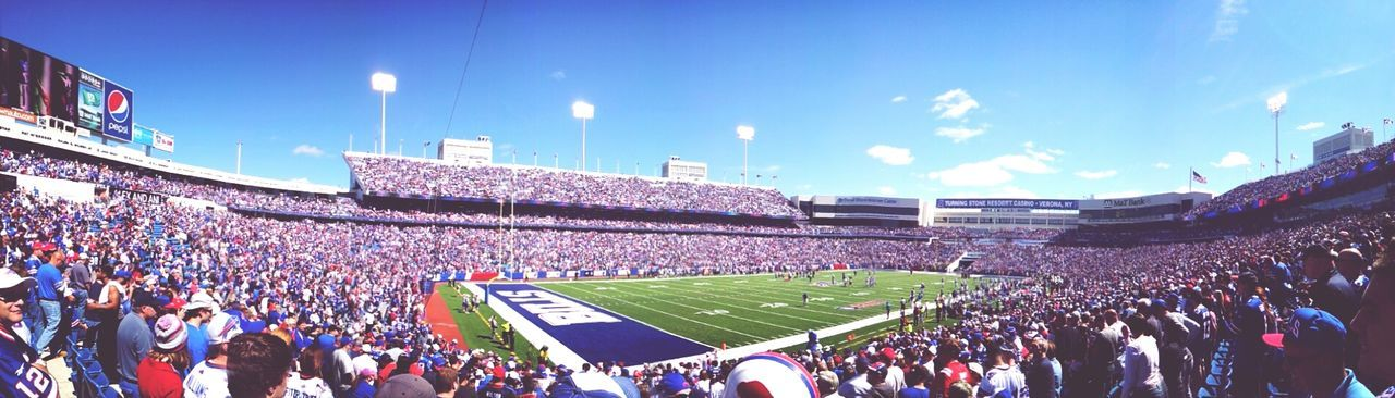 Back to the NFL. Buffalo Bills Things That Are Green Panorama