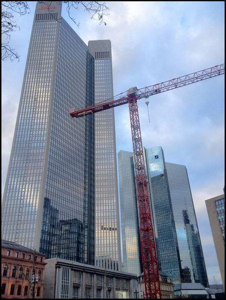 Architecture Wolkenkratzer Frankfurt