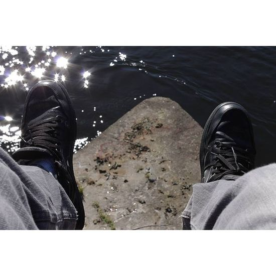 Ottawa 613 City Ontario canada bridge jordans river shoes water sunlight instalove igers tweegram life pic capture photogram pics instagram snapshot picture photo moment nature chill photography instagood