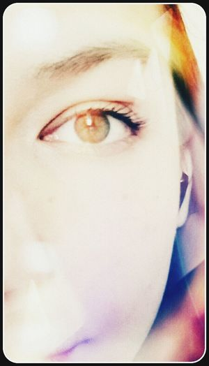 That's Me Eye Color Portrait Hi!
