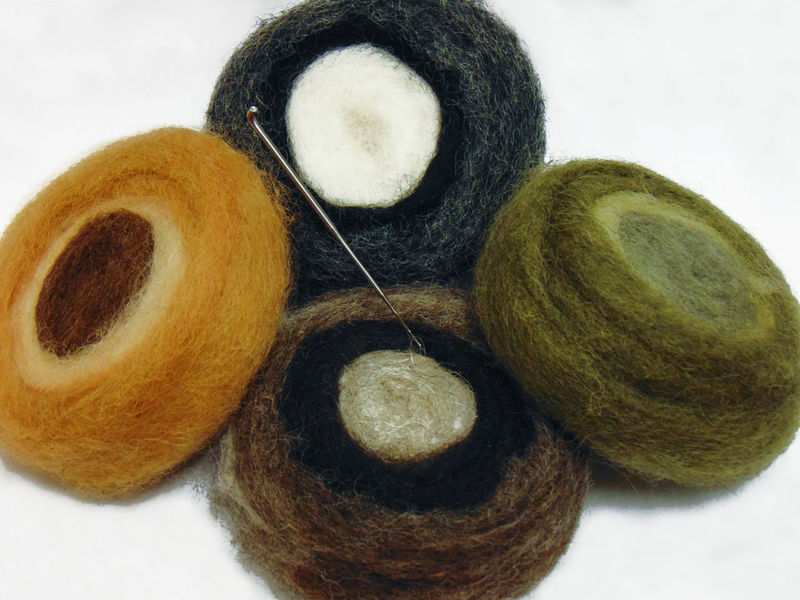 Art And Craft Art, Drawing, Creativity Colors Creativity Soft Art Craft Creative Felt Fiber Handmade No People Sheep Softness Texture Warm White Background Wood - Material Wool