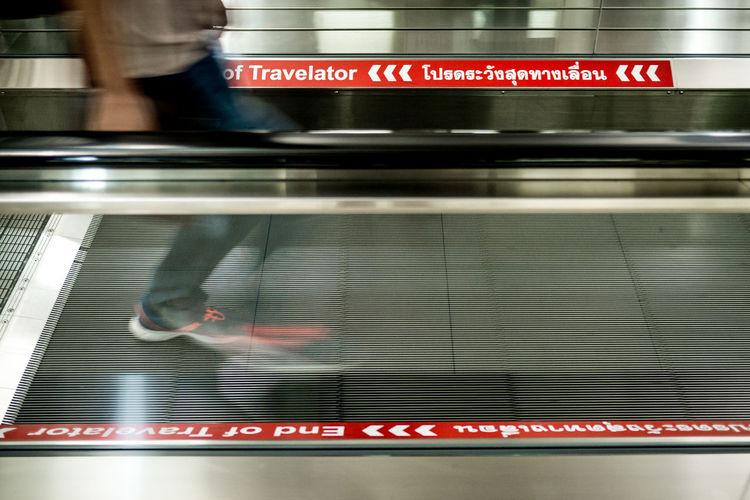 Escalator Suvarnabhumi Airport Travelator