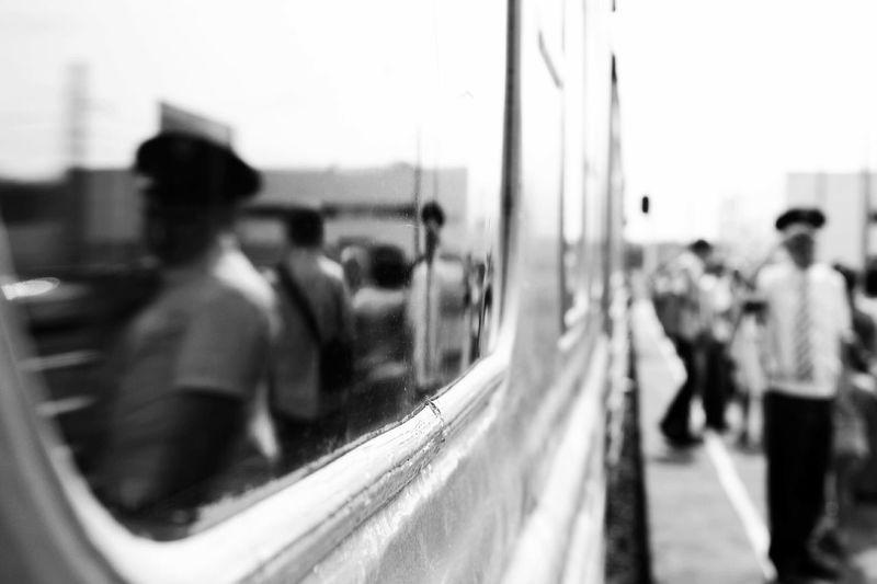 Railway Monochrome Blac&white  Train