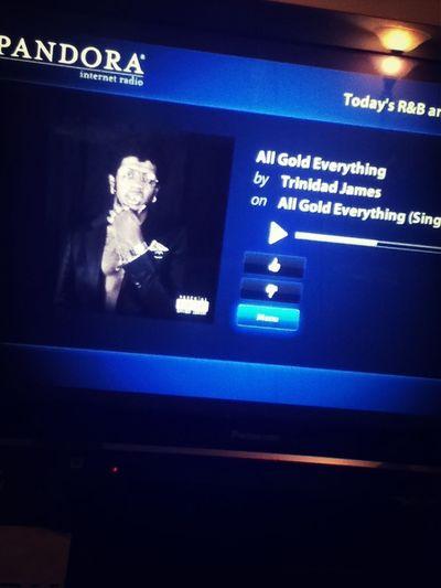 Got Pandora on TV finally ! Wasuuuuuuppp lmao