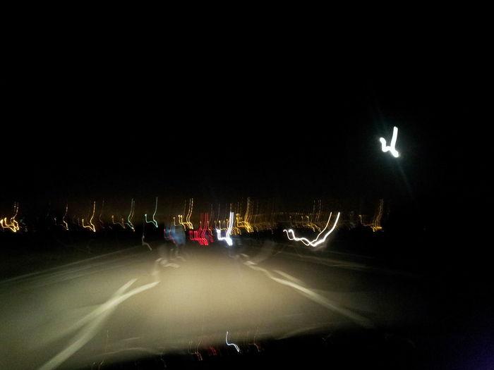 Bristol City Moon Shots Somerset United Kingdom Bristol City Lights Car Illuminated Land Vehicle Long Exposure Long Shutter Mode Of Transport Moon Long Exposed Moon Long Shuttered Motion Night Oops I Shook It Outdoors Road Speed Street Light Transportation EyeEm Ready   HUAWEI Photo Award: After Dark