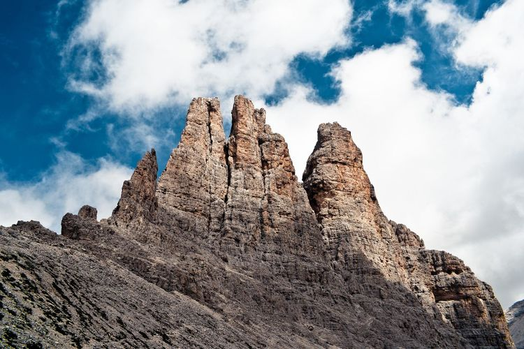 EyeEm Selects Cloud - Sky Low Angle View Sky Rock - Object Nature Outdoors Mountain No People Beauty In Nature Day Light And Shadow Tranquil Scene Rock Nikond3300 Rock Formation Travel Destinations Travel Tourism Nature Scenics Tranquility High Angle View Freshness Close-up