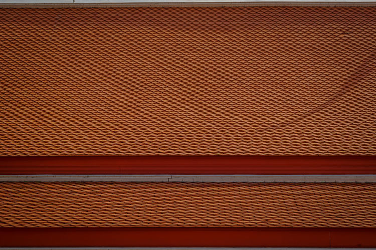 Abstract Close-up Day Indoors  No People Red Roof Tiles Shadow Textured  Thaland Tiles The Graphic City
