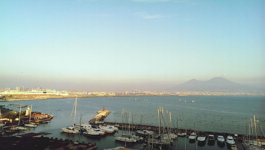 Napoli Golfo Vesuvio Mare
