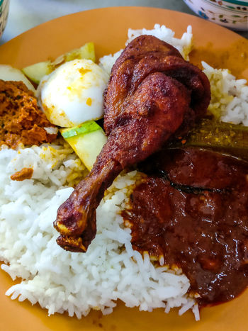 Nasi Ganja Ipoh Ipohfood Ipoh,Malaysia Food And Drink Food Indoors  Plate Close-up Freshness Ready-to-eat Indulgence Meal Unhealthy Eating Meat Temptation Serving Size Lunch Cooked Garnish Appetizer Savory Food Dinner Oneplus3 Done That. My Best Travel Photo