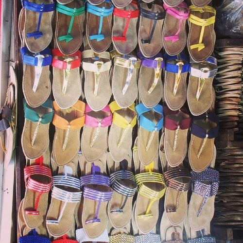 Kolhapuris Chappals Artistic Display Shoes Shoe Shop Colours Sandals Shoe Fetish Lines Colourful